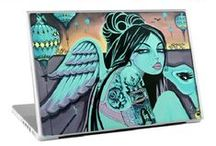 2014 Skins  / NEW 2014 Bev Hogue skin designs ...easily personalize your iPods, mobile phones, gaming devices, laptops, iPads, tablets, hard drives, e-Readers, walls, refrigerators, dishwashers, and even credit cards. Z!NG Revolution is the industry leader in music, fashion, art, television, and pop culture premium quality, vinyl skins and other accessories with the biggest collection of images in the world!