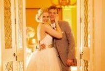 Amber Uplighting / White Rose Entertainment Weddings with Amber Uplighting