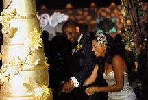 Cake Lighting / White Rose Entertainment Cake Lighting at Weddings