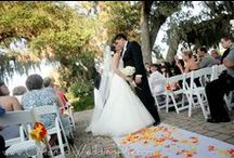 Outside Ceremony / White Rose Entertainment Weddings with Outside Ceremonies