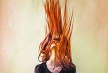 Redhead:) / hair