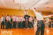 Bouquet Toss and Garter Removal / White Rose Entertainment Bouquet & Garter Toss at Weddings!