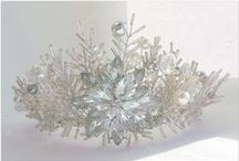Commissioned bridal and wedding hair accessories / Wedding bridal and wedding hair accessories created and designed only by Anglea Franklin at  Tiaras and Teirs, Are you looking for a unique bespoke design for your wedding day then please get intouch www.tiarasandteirs.co.uk