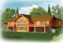 Floor Plans | Strongwood Log & Timber Homes / Strongwood Log & Timber Home Floor Plans