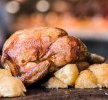 POLLO ALLO SPIEDO GIRARROSTI SANTA RITA / Pollo allo spiedo e deliziose patate al forno / Spit-roasted chicken and delicious baked potatoes