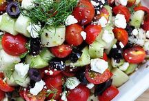 Salades / Summer salads, picknick