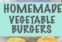 Vega burgers / Vegetarisch