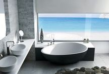 Amazing Bathrooms / So much goes into a bathroom and we love it all. Check out some of the best bathrooms we could find.