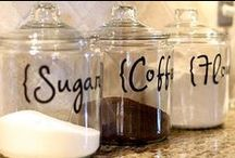 Life on the Counter-DIY / Here are some great DIY crafts and ideas to do on your counters.