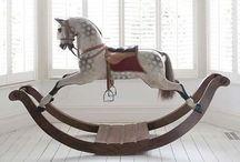Houten paarden - wooden horses