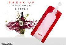 Perfect Gift = Wine2Go / No Glass - No Worries - Leave the Bottle at Home