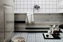Interior decoration/ Bathrooms