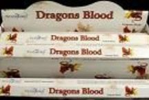 Incense Sticks/ Smudge Sticks and Associated Products/cleansing / A selection of incense sticks and cones including the popular Stamford Dragons Blood and Nag Champa made famous by  Satya Sai Baba