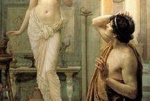 XIV Greek & Roman Mythology Paintings