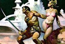 Astonishing Fantasy Art From Artist Frank Frazetta / The World of Frank Frazetta