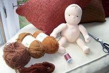 panenky a hračky / Návody a střihy na textilní i waldorfské panenky a jiné hračky, inspirace a tipy.