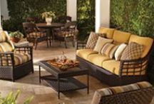 Lane Venture Favorites / Lane Venture WeatherMaster outdoor furniture | synthetic wicker for your outdoor patio.  Available at www.OutdoorRooms.net
