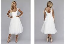 Short Wedding Dresses / I cannot thing of anything more romantic than a piece of cloud to elope in x