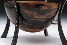 Wood Turned Vessels, Ceramics, Pottery and Porcelain Art / Art