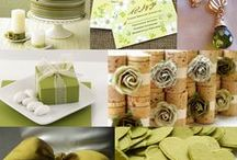 Wedding Ideas / Olive, wine, burlap, cream / by Tracey Schultz