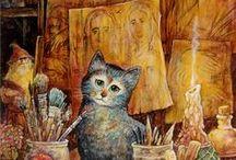 cats and their world - /kočky a jejich svět/