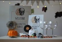 Halloween Printables: Victorian Séance Collection / Customised Halloween party printables. Get them at Fandangle London: https://www.etsy.com/uk/listing/250411188/customised-printable-halloween-party-kit
