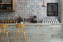 Kökskakel - kakel till kök (kitchen tile, backsplash) / Idéer och inspiration till kakel i moderna kök.