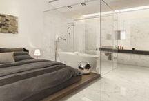 Badrumskakel (Bathroom tile) i klassiska färger / Inspiration och idéer för dig som gillar klassiskt stiliserade badrum