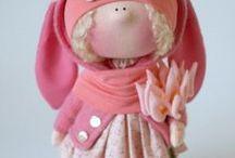 cloth dolls / všechno kolem šití panenek