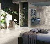 Klinker i sovrum (tiled bedroom) / Inspiration till hur du kan inreda ditt sovrum med klassisk kakel och klinker   Inspiration for how to decorate your bedroom with classic tiles
