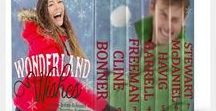 Wonderland Wishes Collection / Seven authors band together in this boxed novella collection celebrating the wonder of Christmas wishes & blessings.  Included are: The Second Noel by Chautona Havig  | Home for the Holidays by Lesley Ann McDaniel   |  Montana Skye by Sylvia Stewart  |  Finding Christmas and You by Jan Cline   |  Kittens and Snow Flurries by Lynnette Bonner  |  A Christmas Hallelujah by Dori Harrell