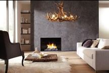 Gas haarden / Gas fires, stoves and heaters come in all shapes and sizes. Built-in fires have been popular for a number of years now; with 'hole-in-the-wall' installation or a classic fire surround. The possibilities are endless.