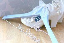 Wedding supplier   Anniebobs Boutique / Wedding supplier - personalised wedding hangers - bridal hangers - personalised wedding gifts - handmade wedding gifts