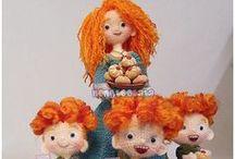 crochet dolls / crochet