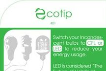ecotips / eco green friendly environmental sustainable tips tricks