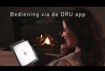 DRU Video's / #DRU #Designed #to #be #Different #haarden #kachels #fires #heaters