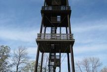Best View from a Tower / GOLD SEAL Awards contest is sponsored by the Friends of Wisconsin State Parks. Campers, bikers, hunters, hikers, anglers, and park visitors cast votes for favorite state park, forest or trail in the ten categories each year. Pin your Gold Seal Award.