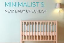 Baby checklists / Checklists of everything you need for baby at every age/stage!