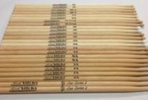 Our Stock Drumsticks / Some of our stock drumsticks