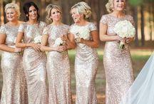 Wedding   Metallic touches / Wedding inspiration - wedding ideas - sparkle theme - metallic theme