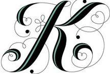 haft krzyżykowy alfabet