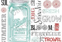 Mason jars and the south / come on I live in the south, it's what we do. / by Natalie Robertson