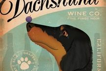 WINE - LOVE IT! / I'm no wine expert but I do like to drink it! And, of course, if it can somehow be combined with pets - then perfect! So here are a few of my favs :)