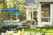 Looking Out My Backdoor / Inspiration for yard, garden, porches, outdoor rooms, etc. / by Juanita