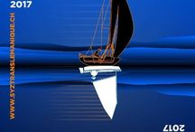 A l'affiche / SeaSailSurf aime les belles affiches. En voici quelques unes pour les passionnés d'art graphique et de glisse !