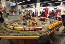 Layouts / Model Train Layouts past and present, from all over the world and a few images are of MTH Electric Trains corporate displays.  This board is a tribute to all the creative modelers our there and the people who enjoy their work.