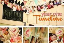 1st Birthday Ideas / by Kaylee Hansen