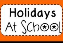 Holidays at school