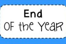 End of the school year / Great resources and ideas for making the end of the school year fun and memorable!