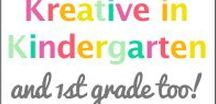 Kreative in Kindergarten TPT / Teacher Pay Teacher created by Me- Kreative in Kindergarten!